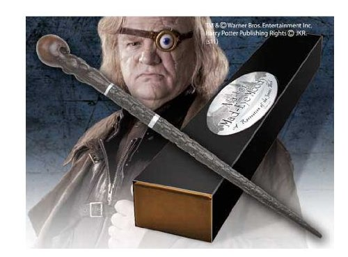 Mad Eye Moody Character wand. Harry Potter Noble Collection. (accesorio de disfraz)