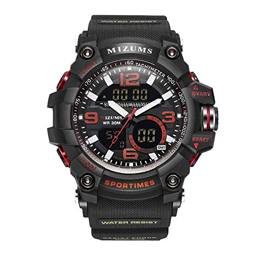Reloj de Moda Impermeable con cronógrafo de Acero Inoxidable para Hombre -C