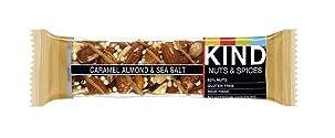 Kind Bars Caramel Almond & Sea Salt Bar 40g