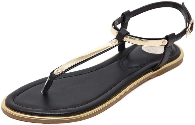 Btrada Women Summer Sandals Flats Platform Flip Flops Student shoes Comfortable Beach Casual Ladies shoes