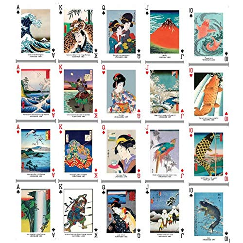 Estampes japonaises - 55 cartes