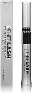 Infinite Lash Eyelash Enhance Serum - Eyelash Growth Enhancer & Brow Serum with Biotin & Natural Growth Peptides for Longer, Thicker, Fuller Lashes and Eyebrows Hypoallergenic 3 months supply .20 oz