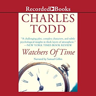 Watchers of Time audiobook cover art