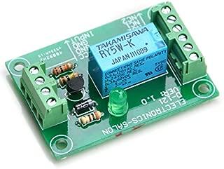 ELECTRONICS-SALON DPDT Signal Relay Module, 5Vdc, RY5W-K Relay. Has Assembled.