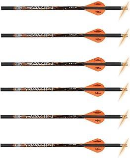 RAVIN Crossbow Bolts Improved Orange nocks Arrows 400 Grain 6PK R130 .003