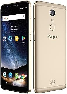 Casper Via G1 Plus Akıllı Telefon, 32 GB, Altın (Casper Türkiye Garantili)