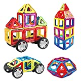 152pcs Construction Kit for Kids with Wheel Gifts2U Magnetic Building Blocks