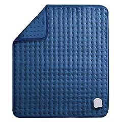 MaxKare Elektrisk värmekudd för rygg nacken shoulder stor värme kudde (50 x 60cm) med Auto avstängning och temperatur inställning i 5 nivåer Mjuk yta och tvättmaskin resistenta Tyg