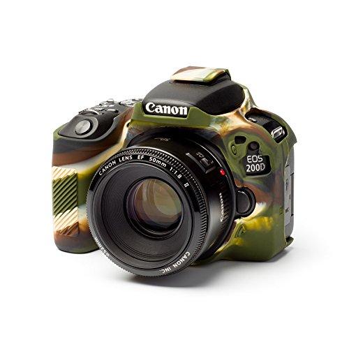 ジャパンホビーツール イージーカバー Canon EOS Kiss X9 用(カモフーラジュ) 液晶保護シール付属
