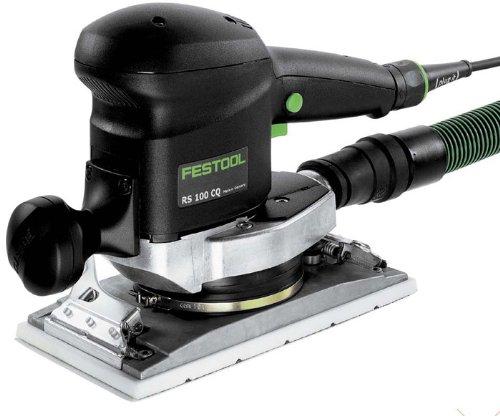 Festool RS 100 CQ-Plu - Lijadora vibratoria para desabastecimiento