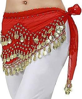 حزام يلف حول الخصر -نساء احمر