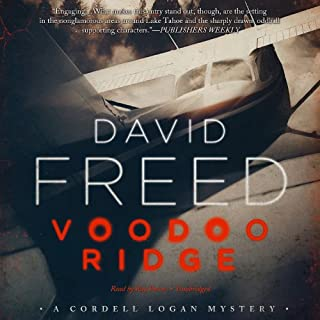 Voodoo Ridge audiobook cover art