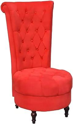 Pleasant Amazon Com Cream White Retro High Back Armless Chair Living Ibusinesslaw Wood Chair Design Ideas Ibusinesslaworg