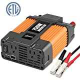 GOOSDA 750W Power Inverter DC 12V to 110V AC Converter with 2.1A USB Dual AC Outlets Car Inverter