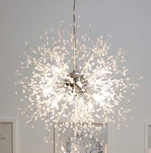 Klassischer Kronleuchter 8 Leuchten Antik Pendant Lampen Haus Decke Beleuchtung Leuchter Beleuchtungsvorrichtung,Durchmesser 23 Zoll