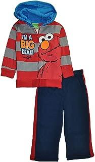 Boys' Elmo I'm A Big Deal Two-Piece Sweatsuit Set