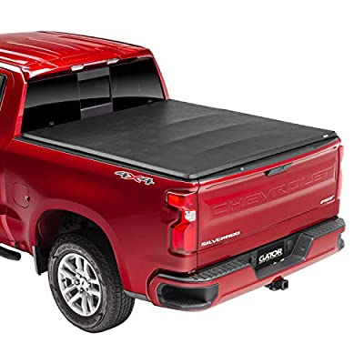 "Gator ETX Soft Tri-Fold Truck Bed Tonneau Cover | 59102 | Fits 2007-2013, 2014 HD Chevy/GMC Silverado/Sierra 6'6"" Bed 