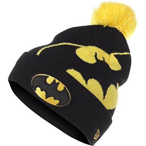 New Era Cap Knit DC Comics Hero Over Logo BatMan Otc