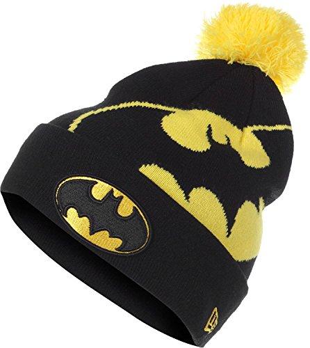 New Era Chapeau d'hiver Beanie - HERO MARVEL BATMAN noir