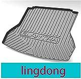 Coche Maletero Goma Alfombrillas para Hyundai Elantra Lingdong, Impermeable Anti Sucio Goma Interior Protectora Accesorios
