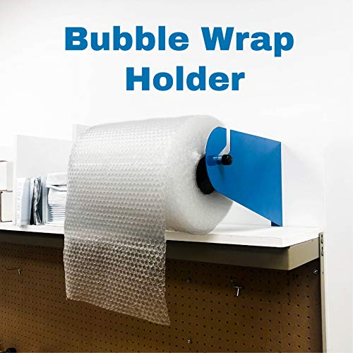 Bubble Wrap Holder Dispenser (fits: Bubble Wrap with 24 Inch Diameter) Wall Ceiling Mountable Perfect for Shipping Station Packaging Warehouse Made in USA