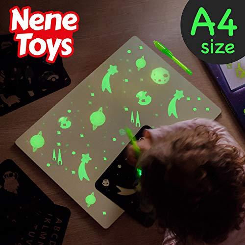 Nene Toys – Pizarra Mágica Dibujo Luz Niños Niñas