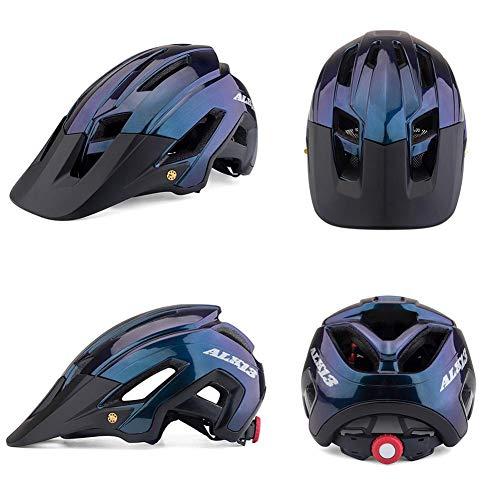 Globqi Fietshelm, voor mountainbike, fiets, scooter, hoverboard, fietshelm, voor fietsers, sport, outdoor, superlicht, verstelbaar