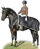 HKM Regen-Nierendecke, Rückenlänge 155 cm, schwarz