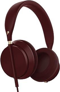 Plugged pcrwn16bc Crown On-Ear Flexible Plegable Equipster estéreo Hi-Fi Auriculares Burdeos Rojo/Copper