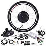 JAXPETY 36V 500W Electric Bicycle Cycle 26' E Bike Front Wheel Ebike...