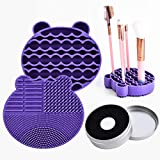 Top 10 Makeup Brush Cleaning Mats of 2020 - Best Reviews Guide