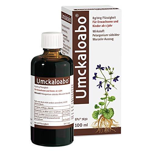 Umckaloabo Tropfen – Pflanzliches Anti-Infektivum bei akuter Bronchitis – 1 x 100ml…