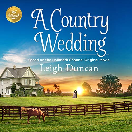 A Country Wedding audiobook cover art