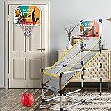 YQZ Juego de Arcade de aro de Baloncesto extraíble, Juguete de Entrenamiento Cerebral, Juego de Deportes de Interior para niños, Regalo de cumpleaños Educativo