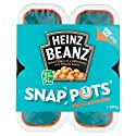 Heinz Baked Beanz in Tomato Sauce, 200 g (Pack of 4)