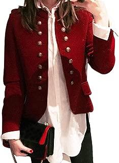beautyjourneylove Cardigan in Lana Double Face a Maniche Lunghe a Quadri per Donna in Autunno e Inverno Cappotto Maglione Double Face a Maniche Lunghe a Quadretti