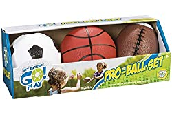 Toysmith Pro-Ball Set- Best Gift for 6 Year Old Boys