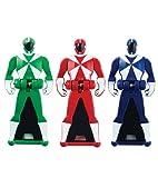 Power Rangers Super Megaforce - Lightspeed Rescue Legendary Ranger Key Pack, Red/Blue/Green