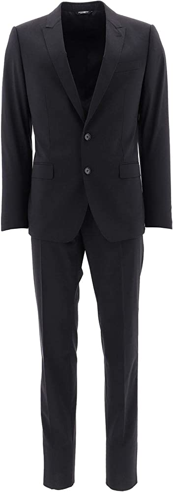 Dolce & gabbana luxury fashion ,abito intero per uomo,in 98% lana, 2% elastan GK0RMTFUBECN0000