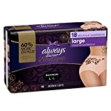 Always ships discreetly Beautifully designed incontinence underwear made of silky-soft fabric with delicate lacy prints, unlike adult diapers Super-absorbent RapidDry core turns liquid to gel, for heavy leak protection you can depend on OdorLock help...