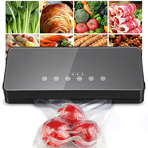 Buy Bargain JJCFM Vacuum Sealer Machine, Food Vacuum Sealer Packing Machine with 10Pcs Bags Free Electric Vacuum Sealer Vacuum Packer Machine