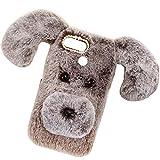 HTC Desire 12Plus Art Case, Handmade Fluffy Villi Dog Baby