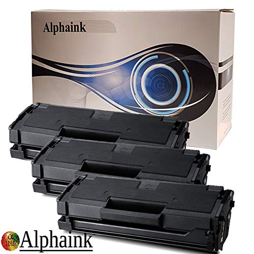 Toner Alphaink Compatibile con Samsung MLT-D101 versione da 3000 copie per stampanti Samsung ML-2160 2161 2162 2164 2165 2168 3400 SCX-3400 3401 3405 SF-760 765 (CAPACITA' MAGGIORATA)