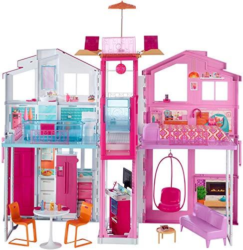 Barbie Real Super Casa 3 Andares Mattel Loira