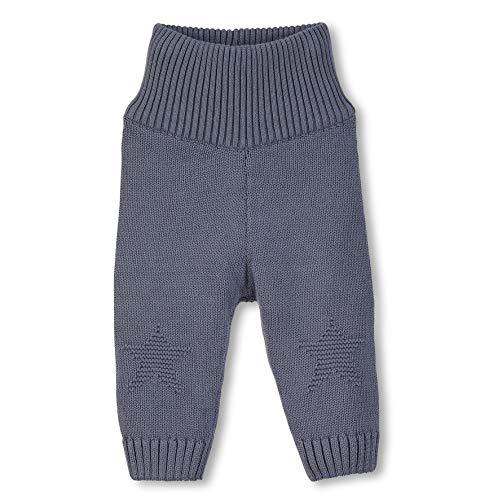 Sterntaler gebreide broek met geribbelde boord, leeftijd: 18-24 maanden, maat: 92, grijsblauw, 5701970