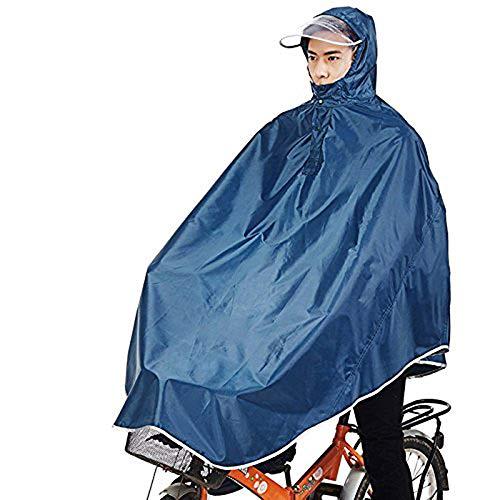 sorliva Regenmantel mit Kapuze, Winddicht, 1 Stück, Neutral, Navy, Package Size: 25 * 20cm