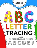 ABC Letter Tracing Book For Preschoolers And Toddlers Ages 3-5: A Fun Practice Workbook To Learn The Alphabet | (Kids Coloring Activity Books)