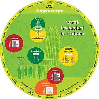 Italian Verb Wheel (Verbi Irregolari in Italiano)