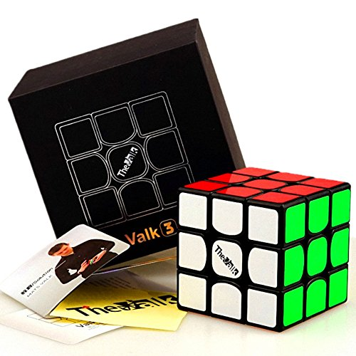 CuberSpeed QiYi Valk 3 Black Magic Cube