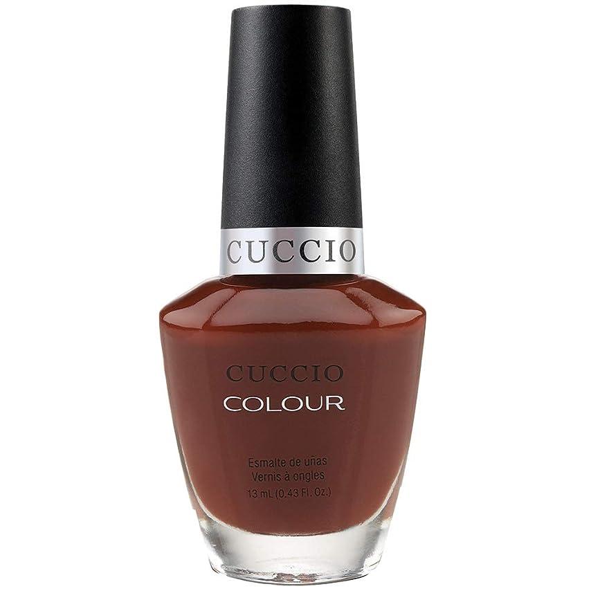 細心の補助頭蓋骨Cuccio Colour Gloss Lacquer - Brew Ha Ha - 0.43oz / 13ml